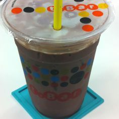 Iced Belgium Chocolate by t.bar very delicious ^^