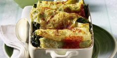 The best Spinach And Ricotta Cannelloni With Tomato Sauce recipe you will ever find. Welcome to RecipesPlus, your premier destination for delicious and dreamy food inspiration. Spinach Ricotta Cannelloni, Tomato Sauce Recipe, Yummy Food, Tasty, Pasta Recipes, Food Inspiration, Italian Recipes, Stuffed Peppers, Meals