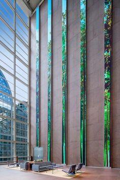 Eight-story LED screens provide epic digital art canvas