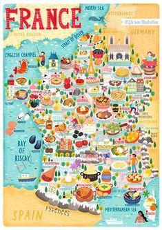 Illustrated Cards - Liv Wan Illustration Freelance Illustrator Amsterdam Map - Print - ados Amsterdam Map PrintAmsterdam Map - Print - ados Amsterdam Map PrintIllustrated map of London - Bek Cruddace IllustrationIllustrated souvenir card from France Map, France Travel, Travel Maps, Travel Posters, Belgium Germany, Visit France, Map Design, Map Art, Travel Inspiration