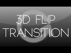 After Effects Tutorial: 3D Flip Transition - YouTube