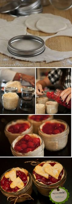 Single-Serving Pie in a Jar | 41 Easy Things To Do With Mason Jars