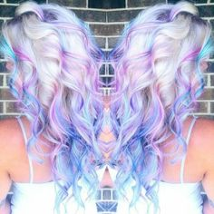 Hair Styles Ideas :   Illustration   Description   Cotton candy sky    -Read More –   - #Hairstyle