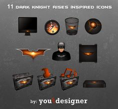 11 Dark Knight Rises Inspired Icons