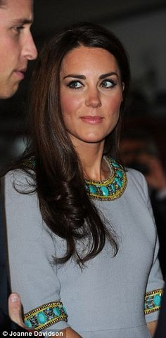 """The Duke and Duchess of Cambridge attend the UK Film Premiere of """"African Cats"""" in aid of Tusk Trust on 25 April 2012."""