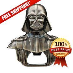 Star Wars Darth Vader alloy gray Metal Bottle Opener  by DropVolt
