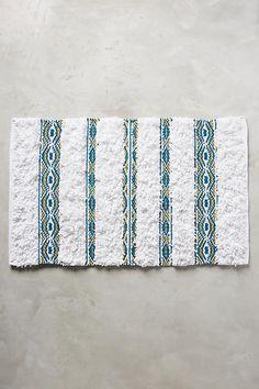 Diamanta Striped Bathmat - anthropologie.com