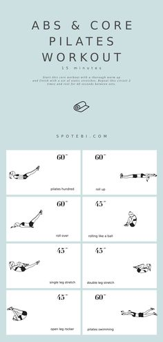 #Abs and #Core #Pilates #Workout