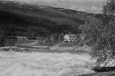 Villa Laksfors (Laksforsvillaen) / Laksfors House (Engelskvillaen), 8680 Trofors, Norway Delena, Norway, Villa, Museum, Snow, Mountains, Places, Nature, House