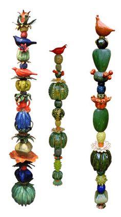 Garden Totems--Kaye Murphy