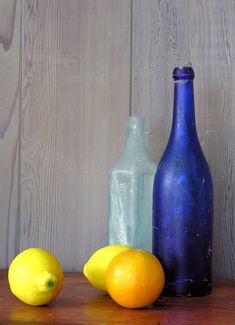 Still life with blue bottle. Still life with vintage bottles and citrus fruits , life photography Still Life With Blue Bottle Stock Image - Image of beverage, rustic: 932065 Photography Tags, Object Photography, Still Life Photography, Blue Flower Wallpaper, Still Life Pictures, Fruits Photos, Still Life Fruit, Object Drawing, Still Life Drawing