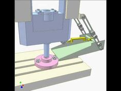 Mechanism for catching workpieces in presses 2 - YouTube