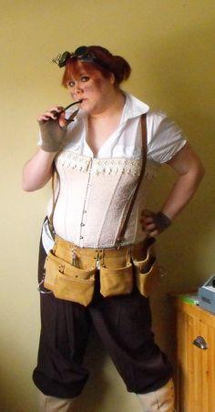 steampunk mechanic costume by ~Eisoptrophobic on deviantART
