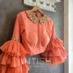 sareeblouseinspiration bridalblouses chicblouses designer featured picture blouse ideas your with this page tag get to Designer Blouse Ideas Tag your picture with to get featured on this page You can find Designer blouse patterns and more on our website Choli Blouse Design, Designer Blouse Patterns, Fancy Blouse Designs, Blouse Neck Designs, Blouse Styles, Blouse Designs Lehenga, Designer Saree Blouses, Indian Blouse Designs, Saree Blouse Patterns