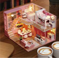 DIY Doll House Wooden dollhouse Furniture Kit Toys for children Christmas Gift DIY Doll House Wooden dollhouse Furniture Kit Toys for children Christ – Ezbuypay Miniature Dollhouse Furniture, Dollhouse Kits, Wooden Dollhouse, Miniature Crafts, Wooden Dolls, Dollhouse Miniatures, Miniture Dollhouse, Dollhouse Dolls, Cheap Doll Houses