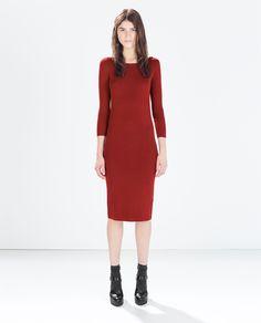 ZARA - WOMAN - KNIT DRESS