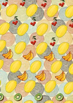 Melon pattern by Olga Whass