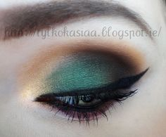 Check out our favorite Emerald green makeup inspired makeup look. Embrace your cosmetic addition at MakeupGeek.com!