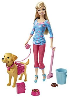 Cool #Barbie Doll that trains doggies #HottestToys ♥  Best Toys for Girls - Favorite Top Gift Ideas - Potty Training Barbie!