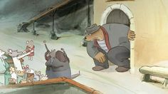 Ernest et Célestine (2012); Directed by Stéphane Aubier, Vincent Patar, Benjamin Renner Ernest Et Celestine, Film, Artist, Poster, Painting, Studios, Cartoons, Illustrations, Drawings