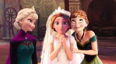 Wait, so Rapunzel is Elsa's cousin?? That actually makes so much sense...