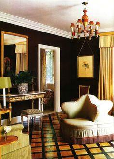 One of the greatest interior designers of all- time, Albert Hadley