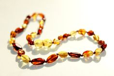 New Baltic Amber Baby Teething Necklace by BalticAmberGiftShop, $14.99