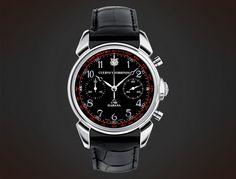 Cuervo y Sobrinos Historiador Crono - Limited Edition black #chronograph