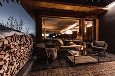 Almmonte Sensum & Präclarum Suites, Wagrain: ski & relax - LIFESTYLEHOTELS Finnish Sauna, Standing Bath, Cross Country Skiing, Hotel Suites, Winter Landscape, Perfect Place, Architecture Design, Relax, Patio