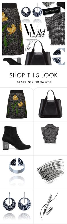 """""""Wild Imagination"""" by blingsense ❤ liked on Polyvore featuring Dolce&Gabbana, Balenciaga, Yves Saint Laurent, Bobbi Brown Cosmetics and Chantecaille"""