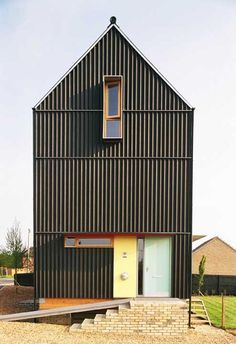 zinc and corrugated metal architecture - Google Search