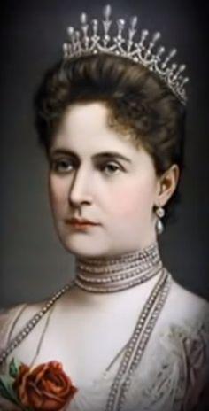 Empress Alexandra Fedorovna.