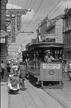 1961 Bangkok trolly scene...