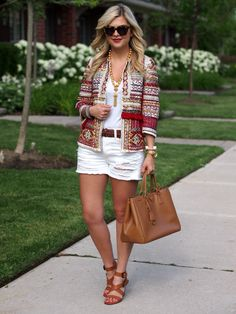 Suburban Faux-Pas: Tribal Jacket