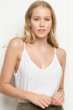 Brandy ♥ Melville | Elettra Tank - Tanks & Halters - Tops - Clothing, $18