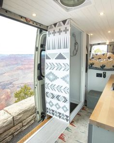 Van Conversion Interior, Camper Van Conversion Diy, Van Interior, Van Conversion With Bathroom, Campervan Conversions Layout, Camper Van Shower, Camper Bathroom, Van Life, Kombi Home