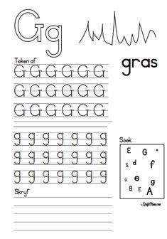 Printable Activities For Kids, Preschool Learning Activities, Free Preschool, Kindergarten Worksheets, Preschool Ideas, Grade R Worksheets, Alphabet Worksheets, Numbers Preschool, Alphabet For Kids