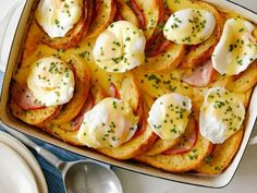 Get Eggs Benedict Casserole Recipe from Food Network Egg Benedict, Eggs Benedict Casserole, Best Breakfast Casserole, Breakfast Dishes, Breakfast Recipes, Breakfast Ideas, Breakfast Club, Casserole Dishes, Casserole Recipes