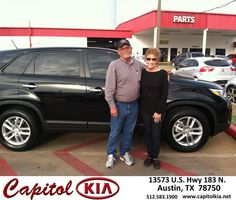 #HappyAnniversary to Roger Flowers on your 2015 #Kia #Sorento from Christian Lundell at Capitol Kia!