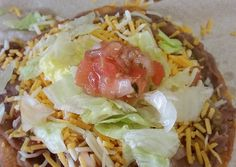 Bean Tostadas Recipe -  How are you today? How about making Bean Tostadas?