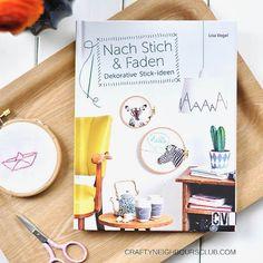 """Buchvorstellung """"Nach Stich und Faden"""" im Craftyneighboursclub"""