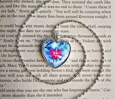 Piece of Heart Necklace inspired by The Legend of Zelda: Ocarina of Time | #Nintendo #OoT #DIY I want this!!