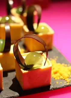 Dessert creation by Head Pastry Chef Joseph Wagenaar
