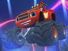 Buckle up and sing along to the Blaze and the Monster Machines official theme song! This theme song will have you and your preschooler revved up for more mon. Gummy Bear Song, Gummy Bears, Monster Truck Party, Monster Trucks, Blaze And The Monster Machines Party, Cloverfield 2, Science Games, Nick Jr, Paw Patrol Birthday