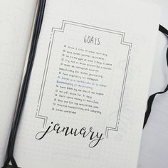 "87 Likes, 8 Comments - Shelby • Bullet Journalist (@bitchin.bujo) on Instagram: ""I know it's not quite January yet but I was so excited to set up a new journal! This is going to be…"""