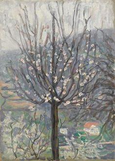 Blossom, early morning   -  Arthur Studd  British 1863-1919