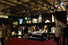 Our stand at Salone del mobile 2016 #salonedelmobile #isaloni #2016 #Serralunga #newproducts #pinebeach #juju #bay #solea #bulbil #kentia #table #sofa #armchair #divisorypanel #lights #finishing #metal #lacquered #gold #bronze #steel #elegance #style #design #madeinitaly