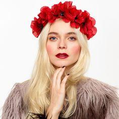 BLAIR Rustic Poppy Crown Headband