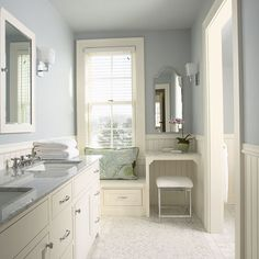 Oh my! This master bedroom bathroom is SO perfect!