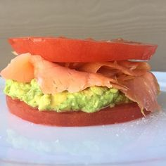 Are you paleo or whole 30 and enjoy a bagel cream cheese and smoked salmon?  Here is my paleo version. @bluecirclefoods smoked salmon slices of tomato and guacamole. Refreshing and healthy  #whole30 #salmon #healthy #cleaneating #paleo #paleodiet #paleowithstyle #bbg #bbgmoms #kaylaitsines #kaleyeah #f52home #hungry #love #food #foodie #instafood #instagram #refreshing #happy #fitlondoners #foods4thought #breakfast #dairyfree #glutenfree #workout #run by paleowithstyle